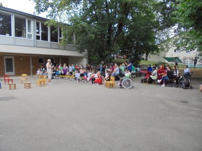 Vorschaubild zur Meldung: Sommerfest im Kindergarten Pfarracker