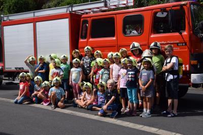 Vorschaubild zur Meldung: Ferienspiele mit der Feuerwehr