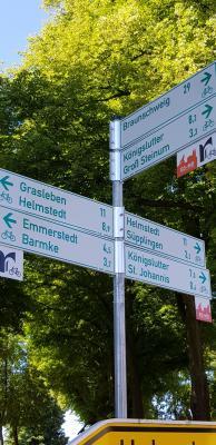 Radwegweisung im Landkreis Helmstedt (Foto: Landkreis Helmstedt)