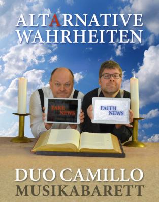 Foto zur Meldung: Musikkabarett mit dem Duo Camillo