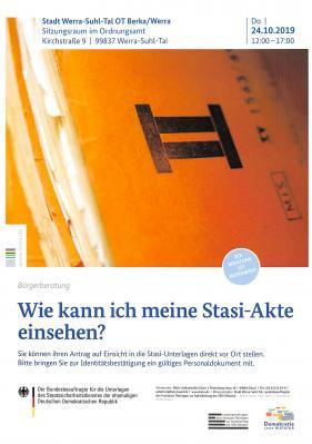 Vorschaubild zur Meldung: Wie kann ich meine Stasi-Akte einsehen?