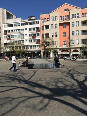 Der Lehniner Platz in Berlin