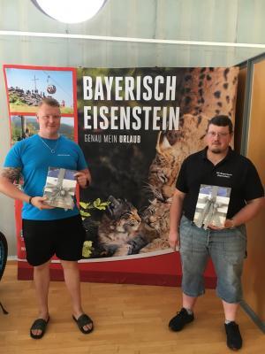 Von links: Florian Schrötter (Vizeeuropameister) & Andre Schober (Europameister)