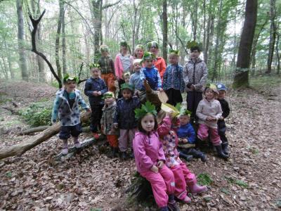 Foto zur Meldung: Drei tolle Tage im Wald