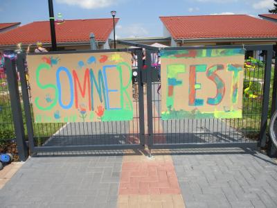 Foto zur Meldung: Ein feucht fröhliches Sommerfest