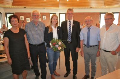 Foto zur Meldung: Stefanie Wilke mit der allgemeinen Stellvertretung des Samtgemeindebürgermeisters beauftragt