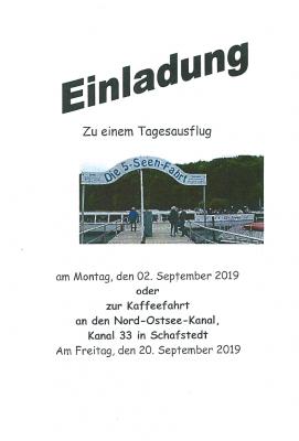 Vorschaubild zur Meldung: Einladung zur Seniorenausfahrt am Montag 02.September 2019