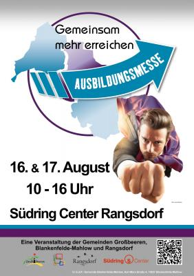 © Gemeinde Blankenfelde-Mahlow - Plakat Ausbildungsmesse 2019