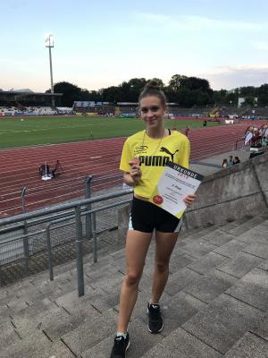 Foto zur Meldung: Anna Rintelmann gewinnt Bronzemedaille bei Deutscher Meisterschaften