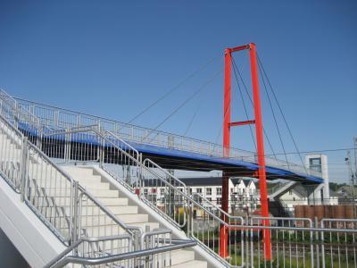 Foto zur Meldung: Aufzüge an der Carolinenbrücke wieder in Betrieb