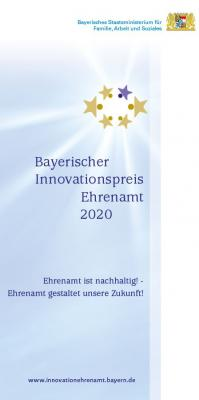 Vorschaubild zur Meldung: Bayerischer Innovationspreis Ehrenamt