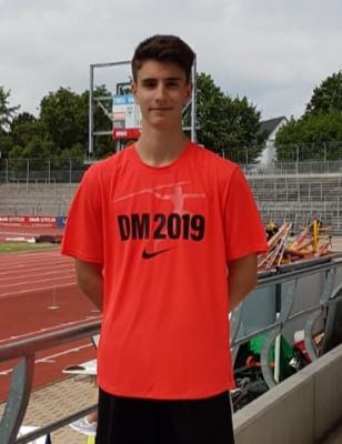 Paul Kirchhof mit DM T-Shirt