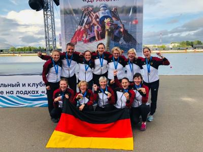Foto zur Meldung: Europameisterschaft Drachenboot in Moskau