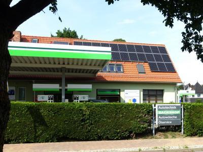 Foto zu Meldung: Photovoltaikanlage mit Batteriespeicher