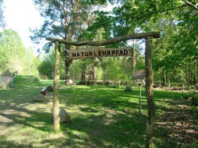 Vorschaubild zur Meldung: Naturlehrpfad begrüßt alle Schulanfänger