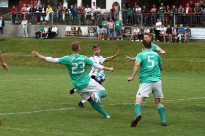 Foto zur Meldung: überraschendes Ergebnis am vierten Spieltag gegen Osterhofen