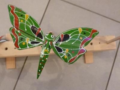 Schwebender Schmetterling?