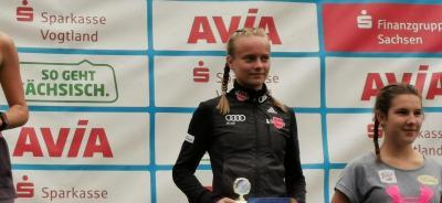 Foto zur Meldung: Bronze für Cindy beim Alpencup