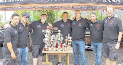 Das Team der Aartal BBQ Crew geht gut vorbereitet in die Deutsche Meisterschaft. Für sie ist es bereits die vierte Teilnahme an den anspruchsvollen Titelkämpfen. Foto: Heinz Burkhard Westerweg