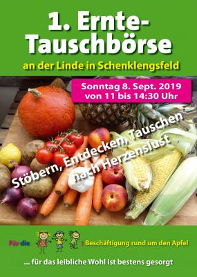 1. Ernte-Tauschbörse 08.09.2019