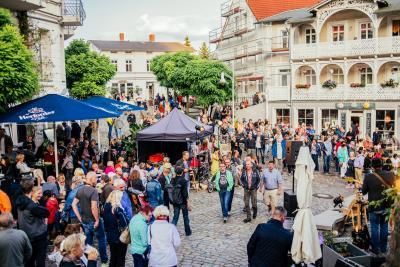 In Alt Sassnitz wird am 15. August wieder das Vollmondfest gefeiert. (Foto: Christian Thiele)