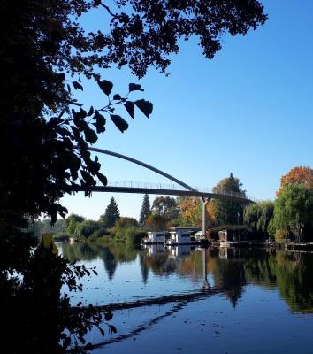 Foto zur Meldung: Weinbergbrücke wieder geöffnet