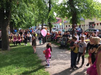 Nachbarschaftsfest in Barby an der Stadtmauer