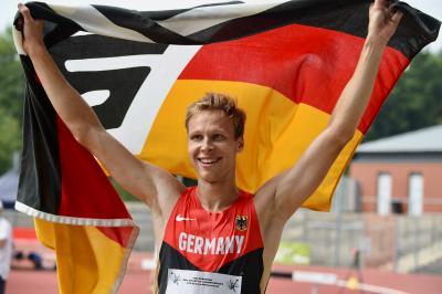 Foto zur Meldung: Leichtathletik EM der Gehörlosen in Bochum-Wattenscheid