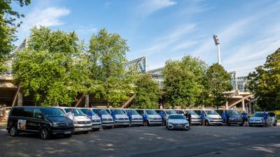 Foto zur Meldung: Unterstützung durch Volkswagen