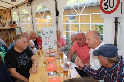 Foto zur Meldung: Tempo 30 in der Damsdorfer Chaussee und in der Kurfürstenstraße
