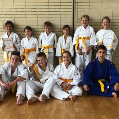 Foto zur Meldung: Judo Gürtelprüfung im Juni 2019