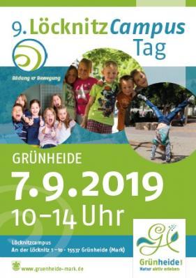 Vorschaubild zur Meldung: Löcknitzcampusfest am 7. September 2019