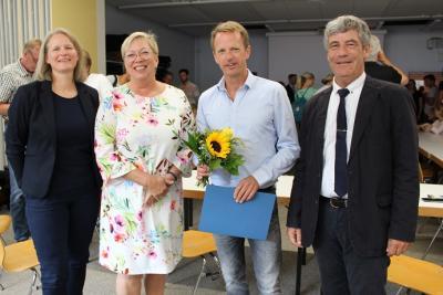 Foto zur Meldung: Schafflund hat einen neuen Schulleiter