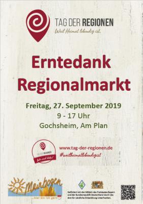 Regionalmarkt Plakat