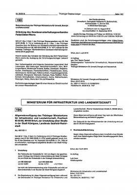 Vorschaubild zur Meldung: Gründung des Gewässerunterhaltungsverbandes Felda/Ulster/Werra