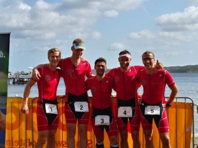 Vorschaubild zur Meldung: Erfolge beim KN-Förde-Triathlon in Kiel