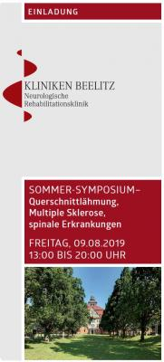 Vorschaubild zur Meldung: Sommersymposium in Beelitz-Heilstätten