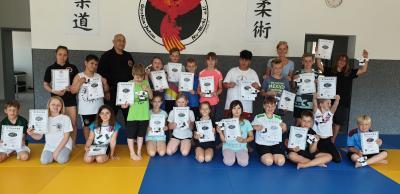 Foto zur Meldung: Schnuppertraining zur Gewaltprävention in der Grundschule Danndorf