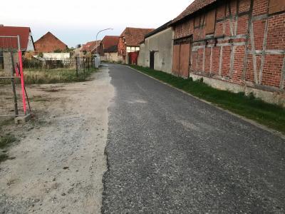 """Foto zur Meldung: Ausbau der Straße """"An der Plantage"""", Bahrdorf"""