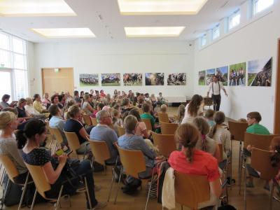 Foto zur Meldung: Abschlussparty Lesesommer