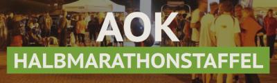 Vorschaubild zur Meldung: Einige Neuerungen bei der AOK-Halbmarathonstaffel