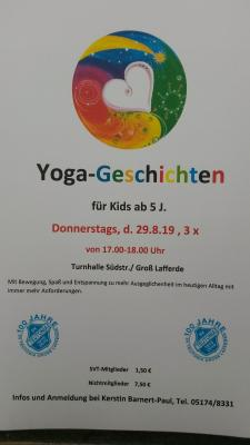 Yoga-Geschichten für Kids ab 5 J.