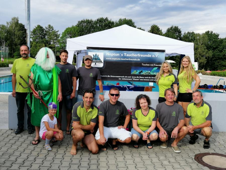 Bild der Meldung: Schnuppertauchen Ferienprogramm in Ortenburg