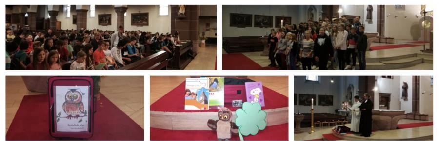 Vorschaubild der Meldung: Schulanfangsgottesdienst der 5. und 6. Klassen