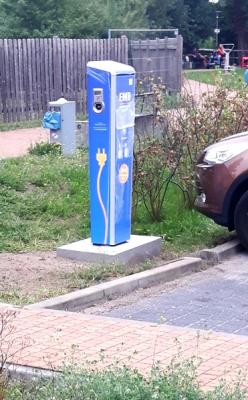 Foto zur Meldung: Elektrofahrzeuge können bald auch in Lehnin betankt werden