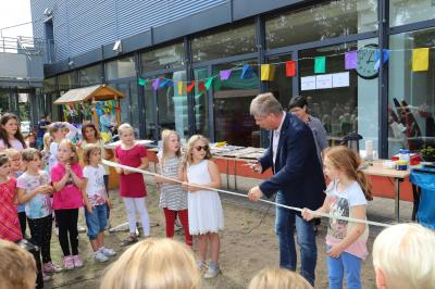 Foto zur Meldung: Integrierte Tagesbetreuung Lehnin am neuen Standort eingeweiht