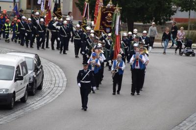 Vorschaubild zur Meldung: Fahnenweihe der Freiwilligen Feuerwehr Perleberg