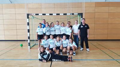 Foto zur Meldung: D-Jugend zum Auftakt der neuen Saison zum Turnier nach Berlin