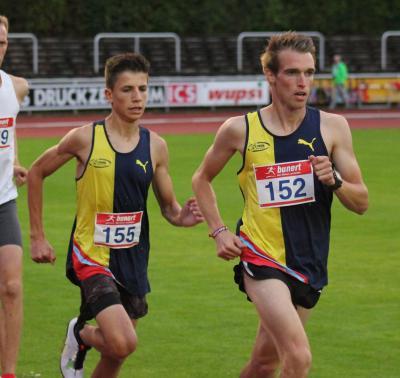 Vorschaubild zur Meldung: Eliah Rieck stellt neuen Vereinsrekord über 3.000m auf