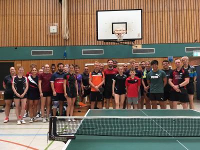 Vorschaubild zur Meldung: Tischtennisspieler kooperieren für qualitativ hochwertiges Training